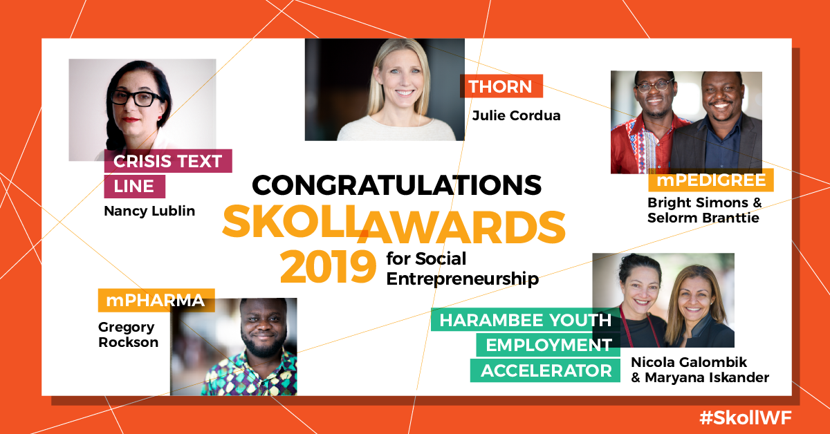 Skoll | Social Entrepreneurs Driving Large Scale Change