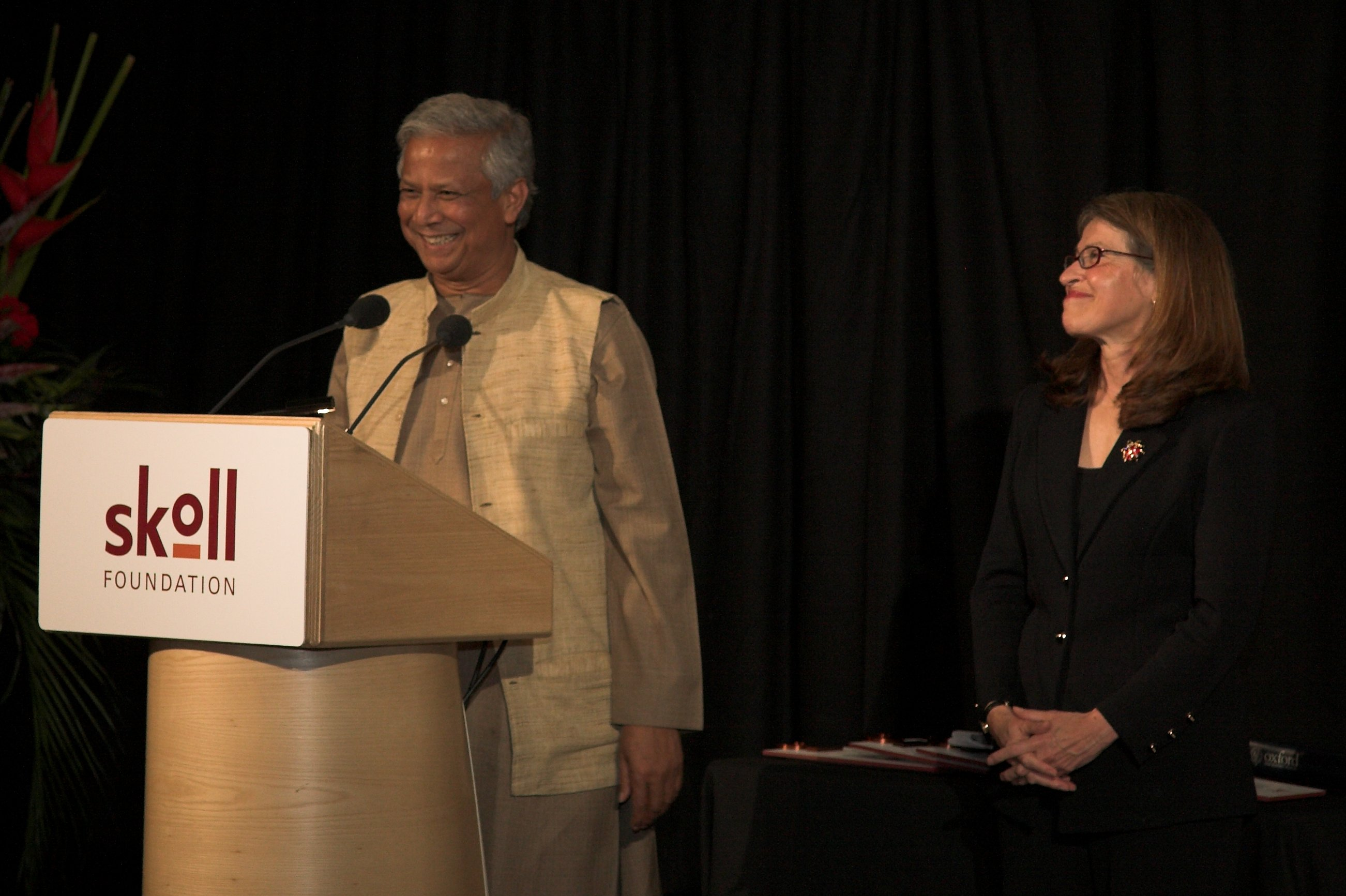 muhammad yunus and sally osberg